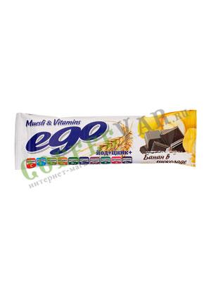 Батончики Мюсли Ego Банан с йодом и витаминами