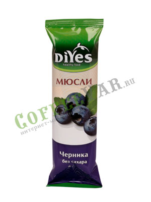 Мюсли Diyes Черника без сахара