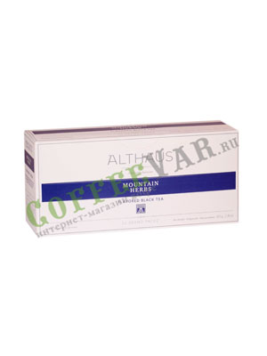 Чай Althaus для чайника Mountain Herbs 20x4гр