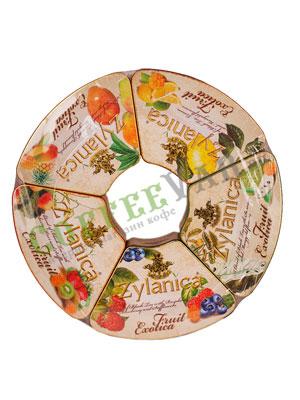 Zylanica Подарочный набор Экзотические фрукты 5 шт по 100 гр