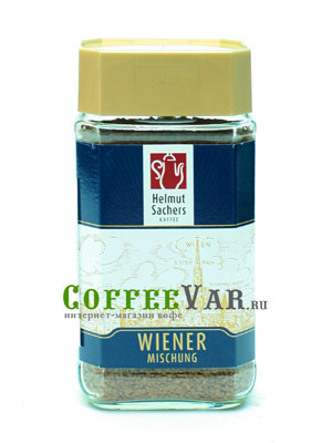Кофе Helmut Sachers растворимый Wiener 100гр