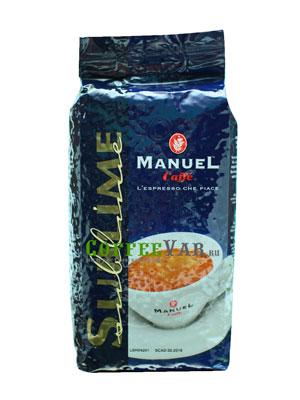 Кофе Manuel Sublime в зернах