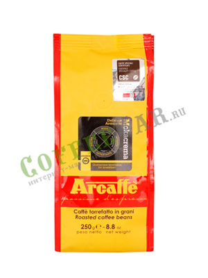 Кофе Arcaffe (Аркафе) в зернах Mokacrema 250 гр