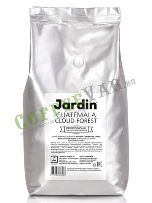 Кофе Jardin в зернах Guatemala Cloud Forest Professional  1кг