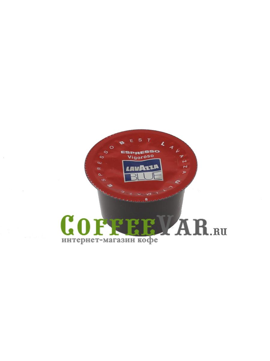 Кофе Lavazza в капсулах Blue Espresso Vigoroso