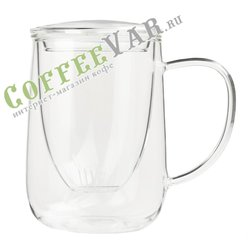 VIVA Cutea Чайная кружка с ситечком 0,5 л (V71700) Прозрачный