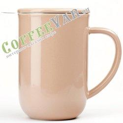 VIVA Minima Чайная кружка с ситечком 0,5 л (V77550) Чайная роза