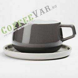 VIVA Ella Чайная чашка с блюдцем 0,3 л (V79748) Серый