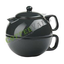 VIVA Jaimi Чайный набор на одну персону (2пр) 0.3 л (V79939) Темно-зеленый