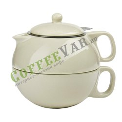 VIVA Jaimi Чайный набор на одну персону (2пр) 0.3 л (V79941) Бежевый