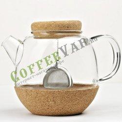 VIVA Cortica Чайник заварочный с ситечком 0.8 л (V71300) Прозрачный