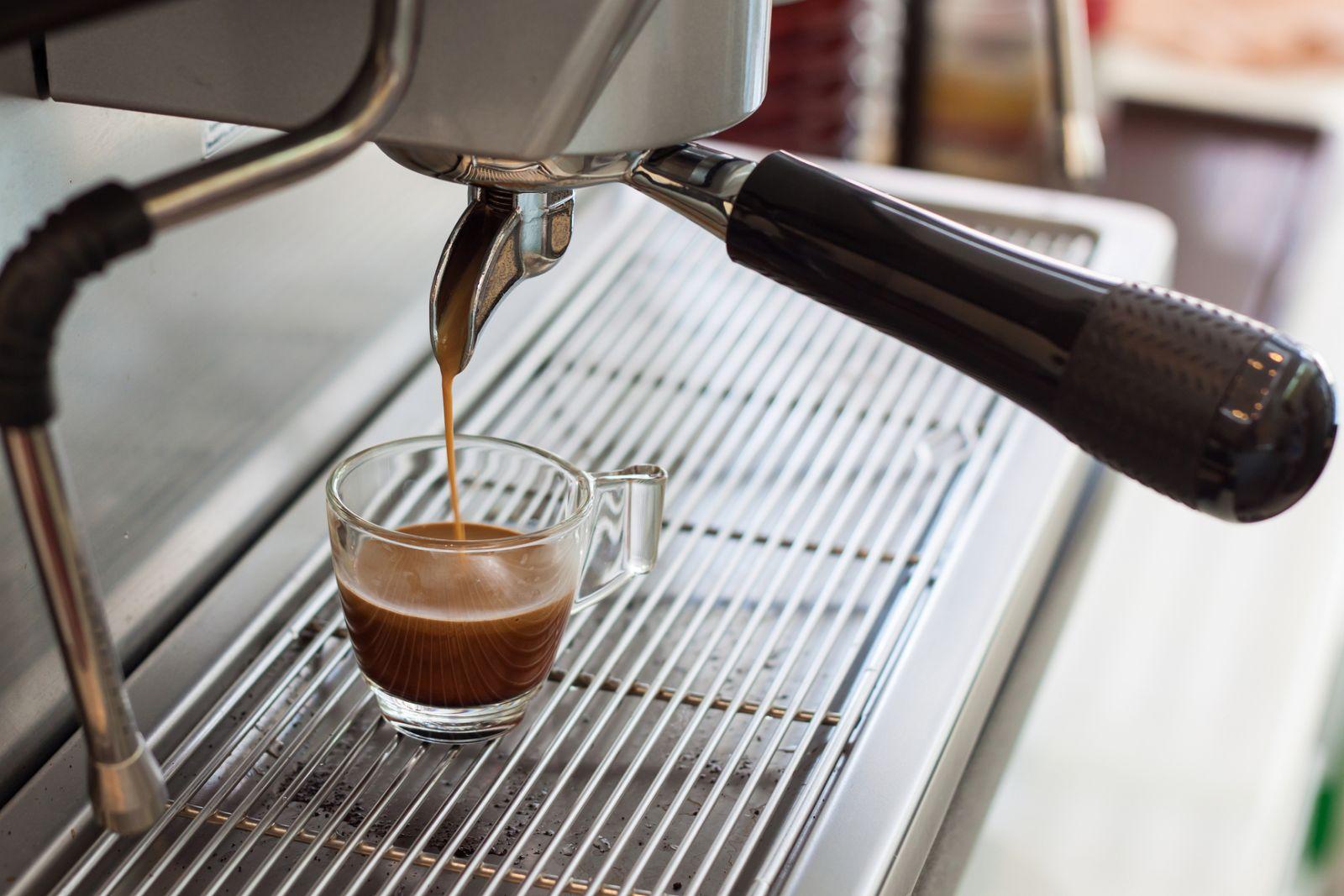 как готовить кофе в кофемашине эспрессо